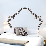 Vintage Headboard Wall Decals and Wall Stickers