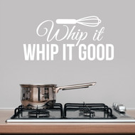 Whip It Whip It Good Wall Decals and Wall Stickers