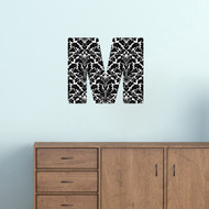 Printed Pattern Block Monogram Wall Decals and Stickers