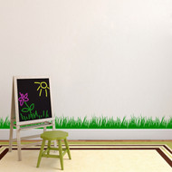 This sample shows multiple decals placed together. Grass Wall Decals and Stickers