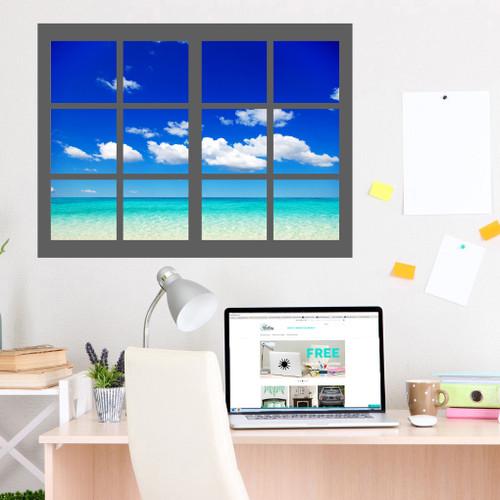 Ocean Scene With Frame
