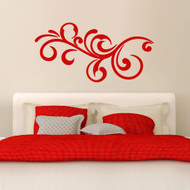 Decorative Scroll Flourish - Wall Decals and Wall Stickers