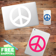 Peace Sign - Device Decal Wall Stickers