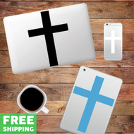 Cross Device Decals Wall Stickers