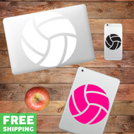 Volleyball - Device Decal