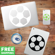 Soccer Ball - Device Decal Wall Stickers