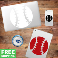Baseball Device Decals Wall Stickers