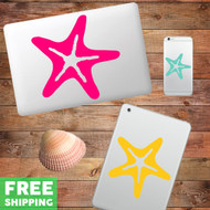 Starfish - Device Decal Wall Stickers