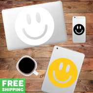 Smiley Face - Device Decal Wall Stickers
