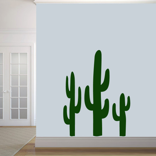 Cactuses Wall Decals Medium Sample Image