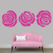 Set Of Roses Wall Decals Extra Large Sample Image