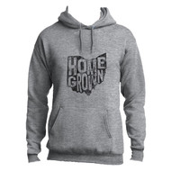 Athletic Heather Homegrown Ohio Adult Unisex Hoodie