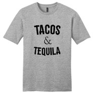 Light Heathered Gray Tacos & Tequila T-Shirt