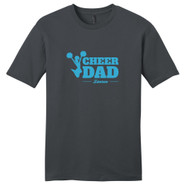 Charcoal Custom Cheer Dad T-Shirt