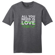 Heathered Charcoal All You Need Is Tequila T-Shirt