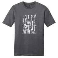 Heathered Charcoal I'm My Own Spirit Animal T-Shirt