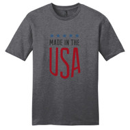 Heathered Charcoal Made In The USA T-Shirt