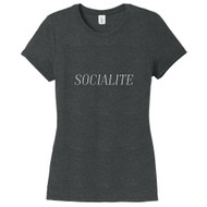 Black Frost Socialite Women's Fitted T-Shirt