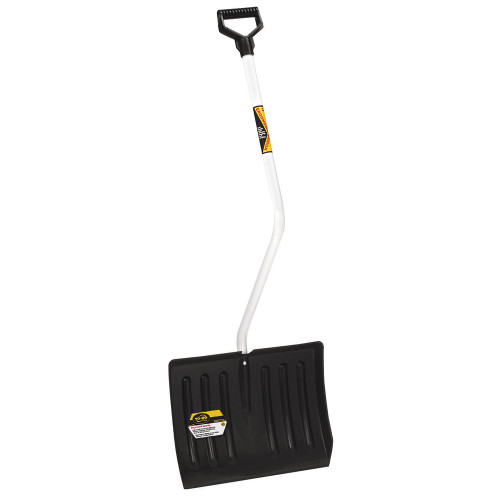Bent-Handle Poly Snow Shovel