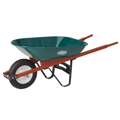 Homeowner Duty, Lightweight Steel Wheelbarrow