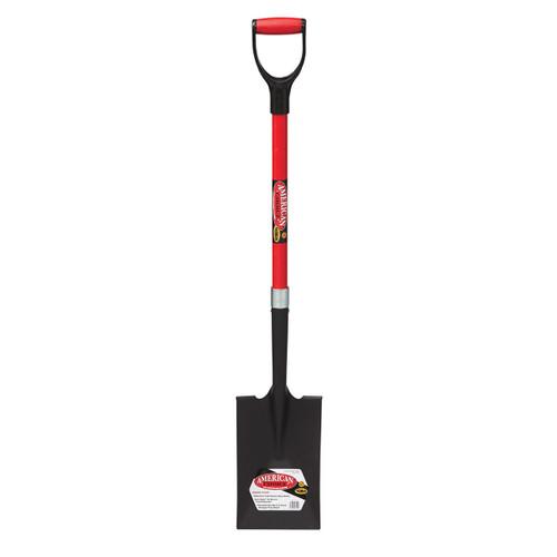 """Garden Spade, 32"""" fiberglass D-handle"""