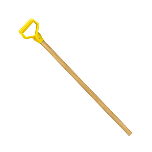 "36"" Replacement Hardwood Handle, yellow poly D"