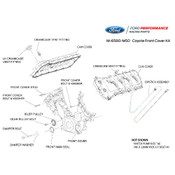 5.0L COYOTE FRONT & CAM COVER KIT