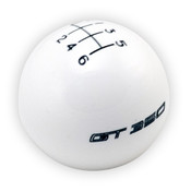 FORD PERFORMANCE GT350 SHIFT KNOB 6-SPEED - WHITE