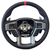 2015-2017 F-150 RAPTOR PERFORMANCE STEERING WHEEL KIT- RED SIGHTLINE
