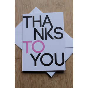 Thanks To You Pink