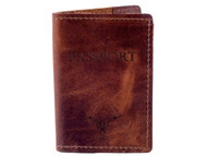 Passport Case - Saddle