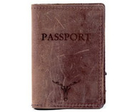 Passport Case - Dark Brown