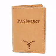Passport Case - Buckskin
