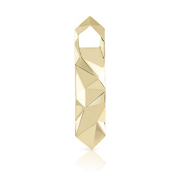 Belmont Faceted Gold Bottle Opener
