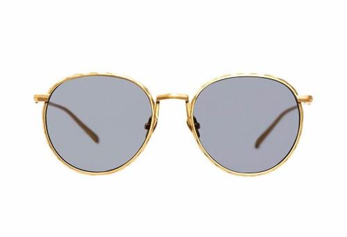 CORPUS-Brushed Gold/Black Lens (FLAT)
