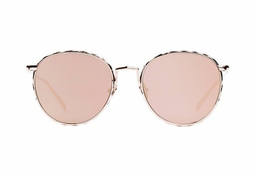 CORPUS-Gloss Rose Gold/Rose Gold Mirror Lens(FLAT)