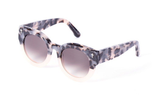 ADCC - Baby Pink Tort to Baby Pink/ Black Gradient Lens Angle