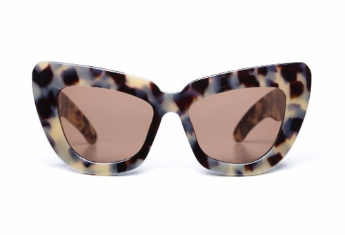 GENIUS CHILD - Desert Leopard Tort/ Brown Gradient Lens