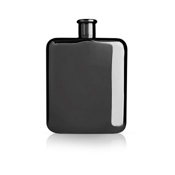 Flask - Gunmetal Black