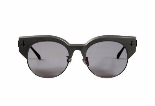 ADCC ll - Matte Black w Gloss Black Titanium Trim/ Black Lens