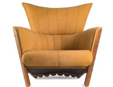 Moorea Armchair - Verite Ochre