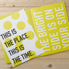Share Happy - This is the place and the time