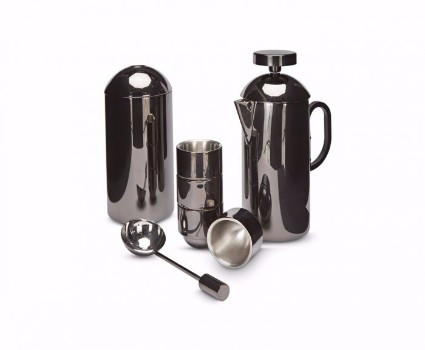 Brew Cafetiere Gift Set - Black