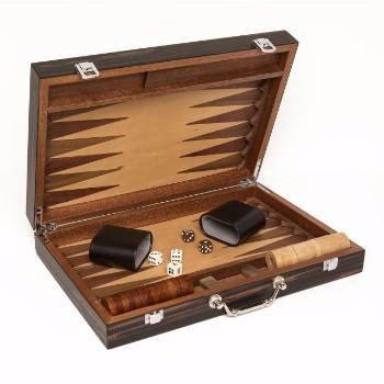 Matte Ebony Backgammon set