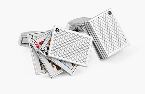 Playing Card Cufflinks