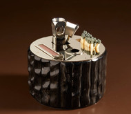 Cylindrical Cigar Set With Guillotine Cutter - Oryx
