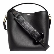 Le Mini Baggala - Black/ Crocodile