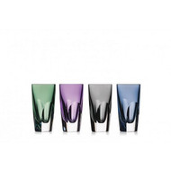Waterford W Assorted Color Shot Glasses - Set of 4