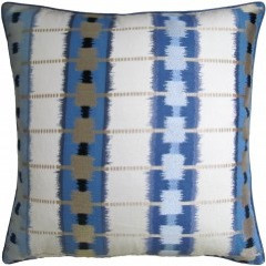 Sri Lanka Embroidery - Blue