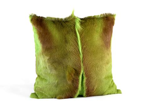 Springbok Pillow, Apple Green